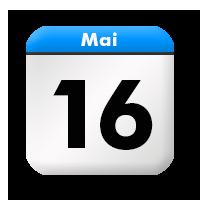 Bildergebnis für kalenderblatt 16. mai