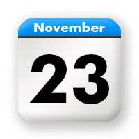 Bildergebnis für Kalenderblatt 23.11.2018 Bild