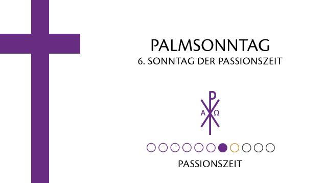 Palmsonntag Symbol