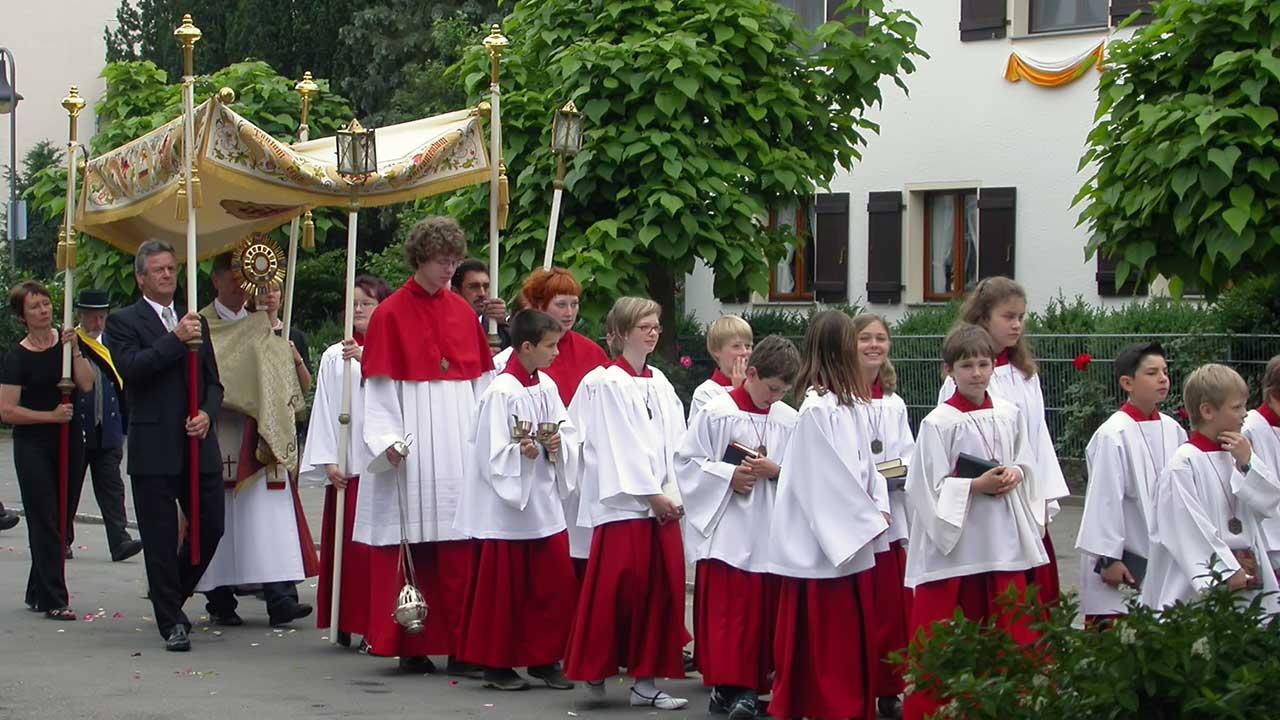Fronleichnam Feiertag Sachsen