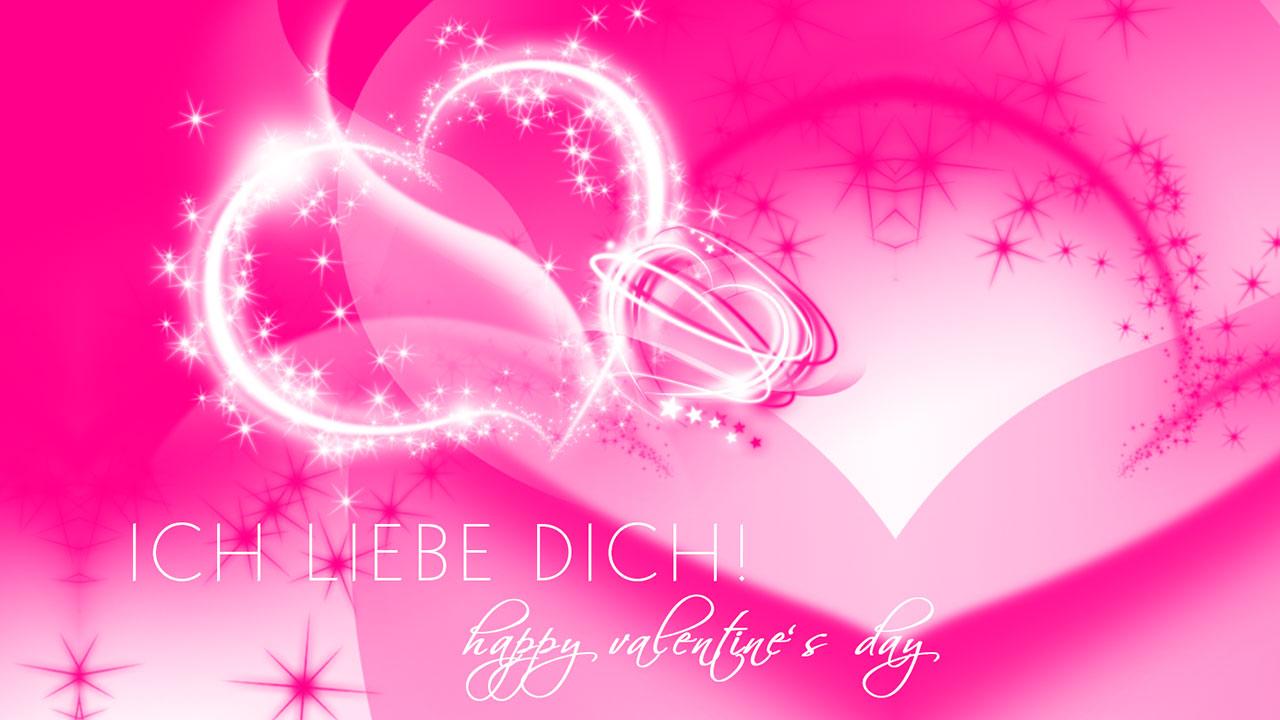 Ein Kleiner Gruß Zum Valentinstag | Grafik: © Sabrina |