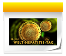 Symbol: Welt-Hepatitis-Tag