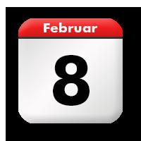 8 Februar