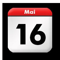 Kalenderblatt | Sonntag, 16. Mai 2021 – Stilkunst.de