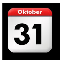 31 Oktober 2021