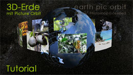 Tutorial: 3D-Erde mit Picture Orbit
