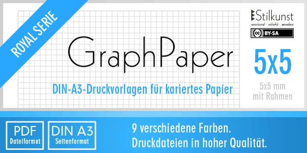 druckvorlage din a3  kariertes papier 5x5 mm  u2013 stilkunst de
