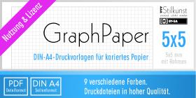 Druckvorlage Din A4 Kariertes Papier 5x5 Mm Stilkunst De