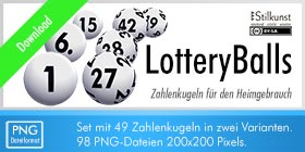 Titelbild Download LotteryBalls