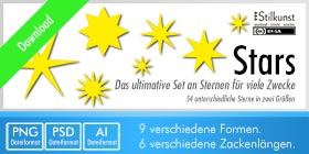 Titelbild Download Stars | Bilder-Set Sterne
